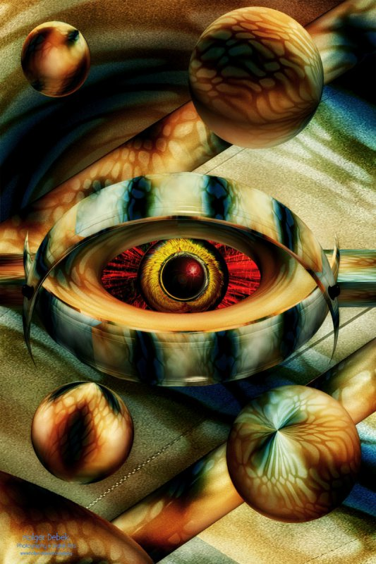Digital Art - Cosmic eye