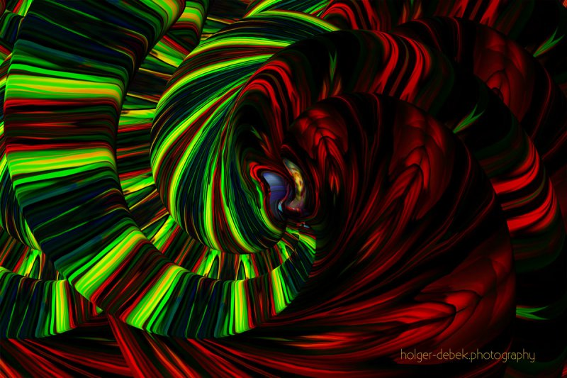 Digital Art - Are circular waves a hallucinogen replacement