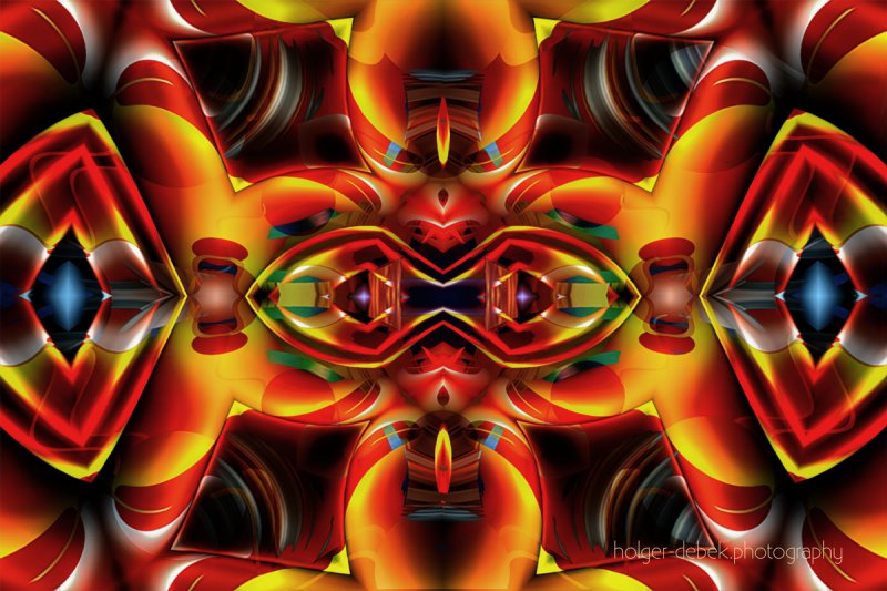 Digital Art -The eyes of moctezuma