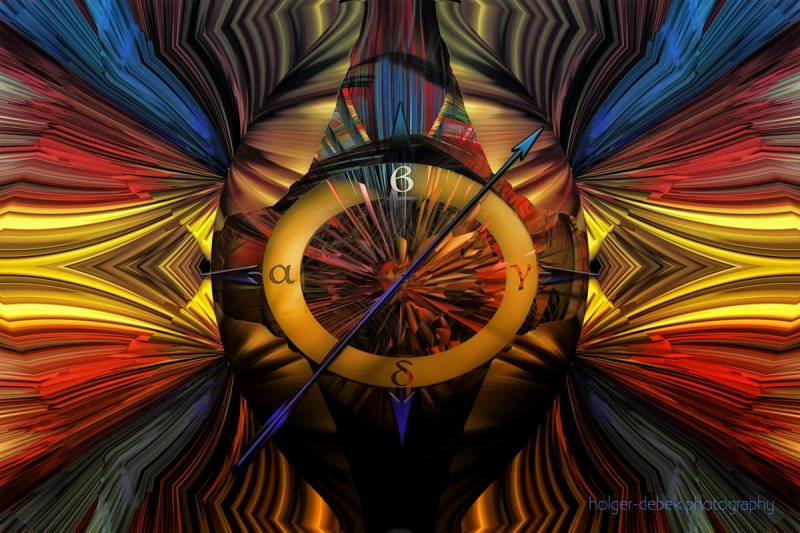Digital Art - The inner compass